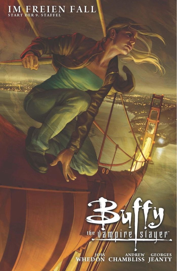 Buffy The Vampire Slayer, Staffel 9, Band 1: Im freien Fall | © Panini