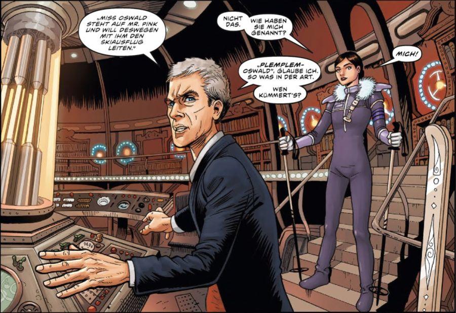 Ausschnitt aus Doctor Who: Der zwölfte Doctor 1 – Der wilde Planet | © Panini