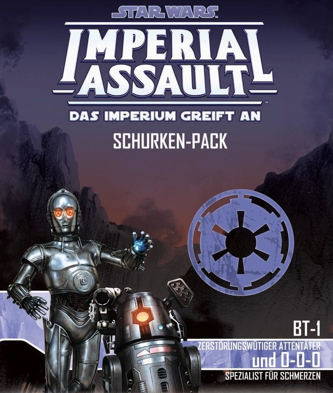 Star Wars: Imperial Assault - BT-1 und 0-0-0 Schurken-Pack | © Heidelberger Spieleverlag