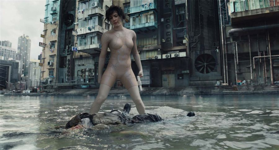 Szenenbild aus Ghost in the Shell | © Paramount/Universal Pictures
