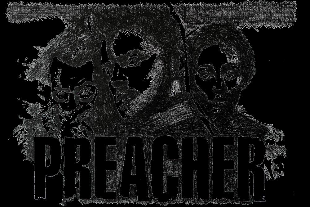 Preacher | Zeichnung von Wulf Bengsch