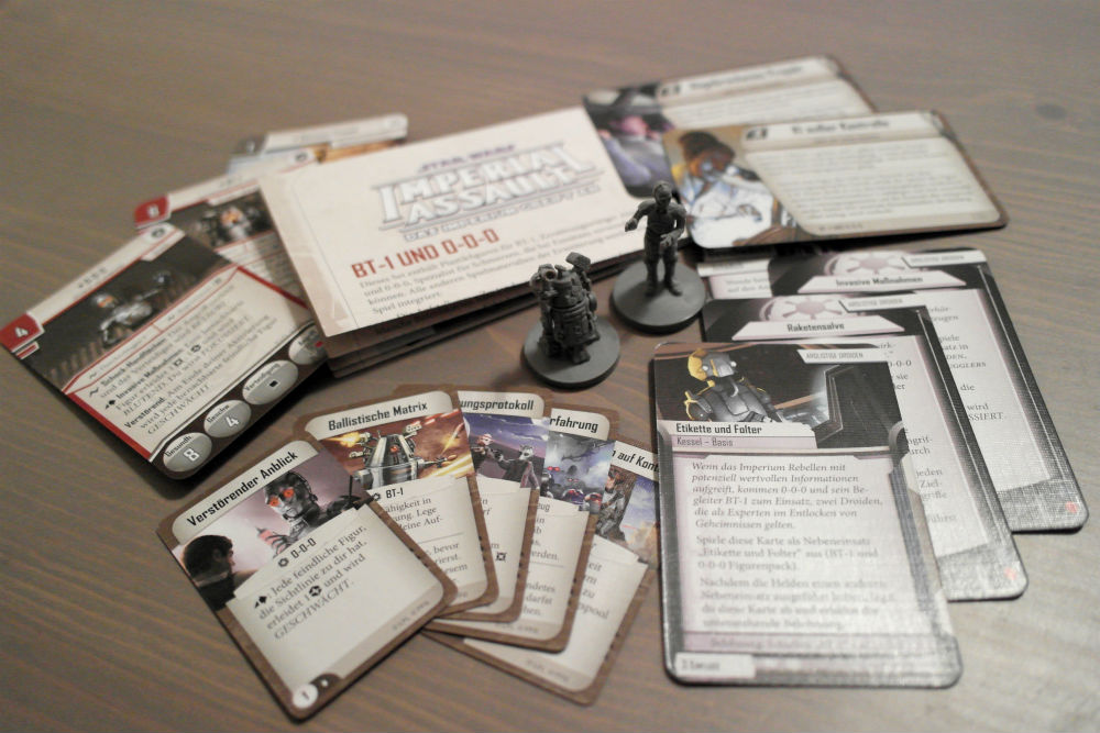 Star Wars: Imperial Assault - BT-1 und 0-0-0 Schurken-Pack | © Heidelberger Spieleverlag
