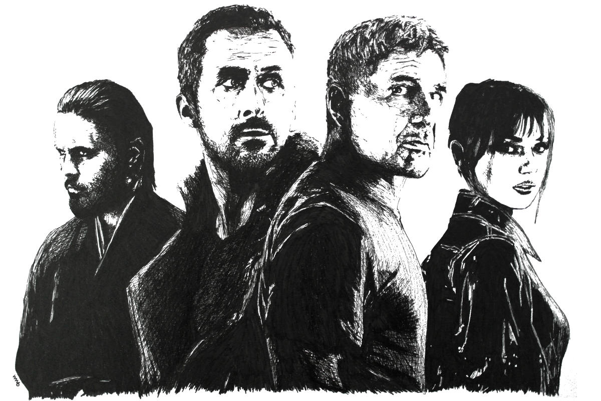 Blade Runner 2049 | Zeichnung von Wulf Bengsch