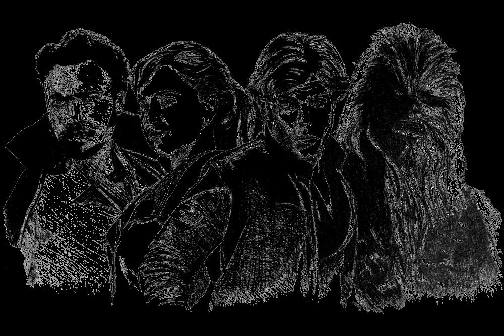 Solo: A Star Wars Story | Zeichnung von Wulf Bengsch
