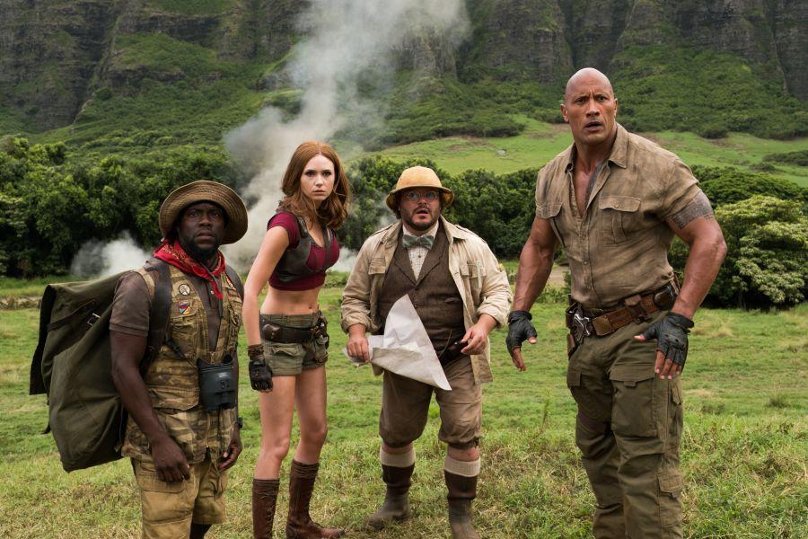 Szenenbild aus Jumanji: Willkommen im Dschungel | © Sony Pictures Home Entertainment Inc.