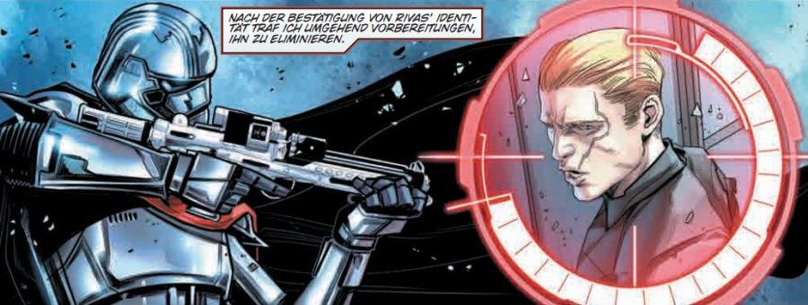 Ausschnitt aus Star Wars: Captain Phasma | © Panini