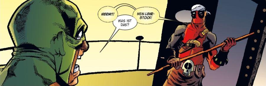 Ausschnitt aus Deadpool: X für ein U | © Panini
