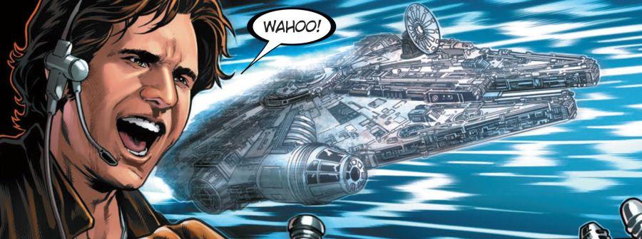 Ausschnitt aus Star Wars: Han Solo | © Panini