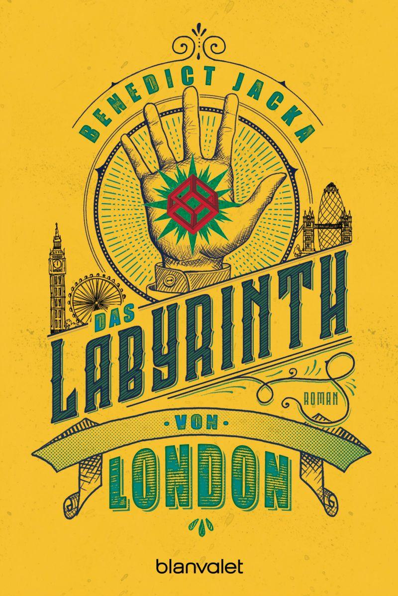 Das Labyrinth von London von Benedict Jacka | © Blanvalet