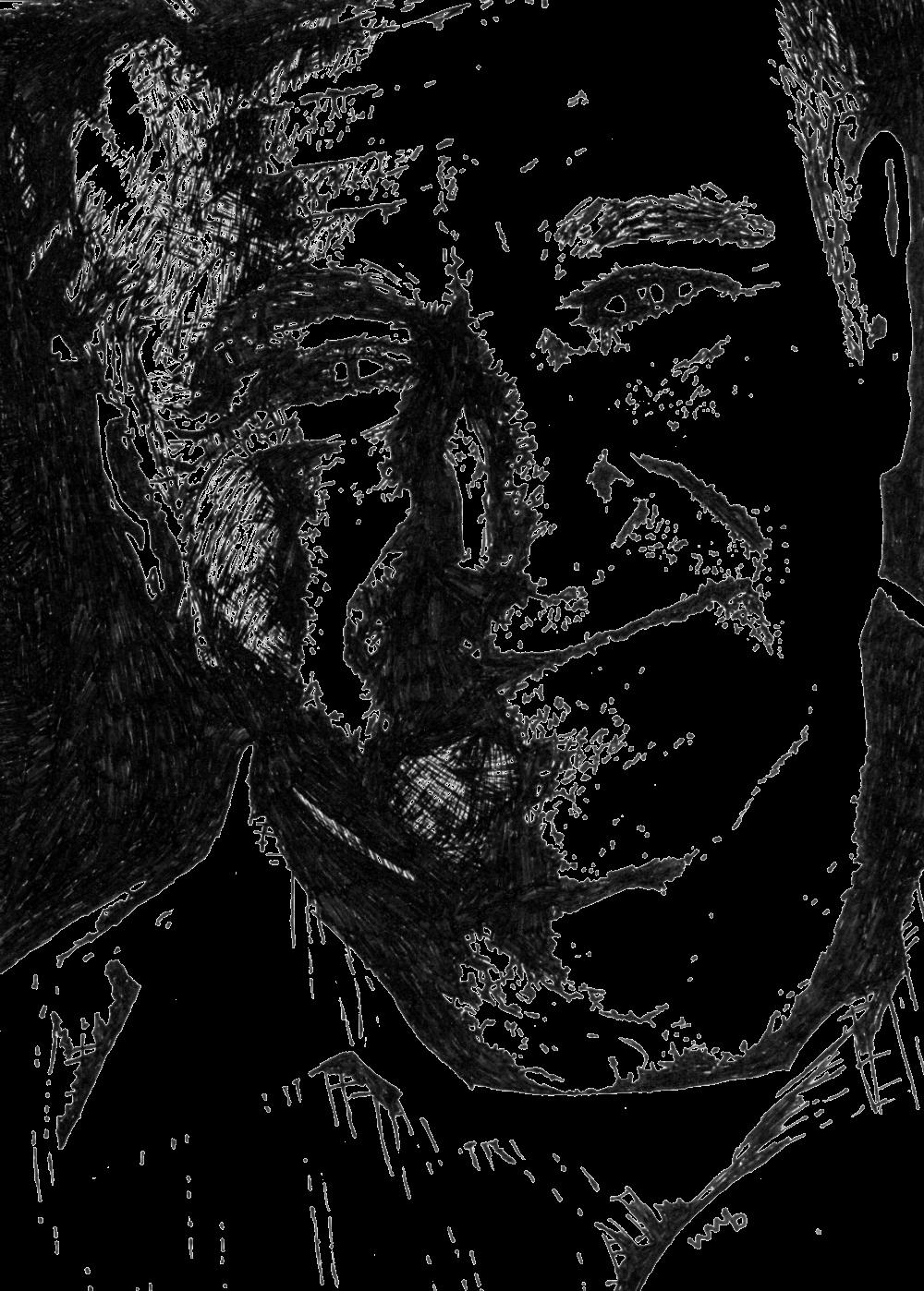 Robin Williams | Zeichnung von Wulf Bengsch