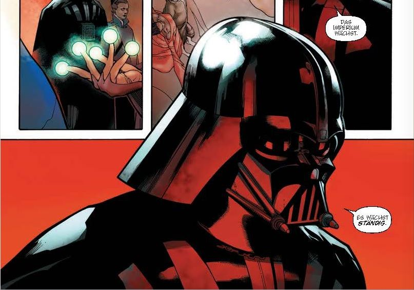 Ausschnitt aus Star Wars: Darth Vader: Der Shu-Torun-Krieg | © Panini