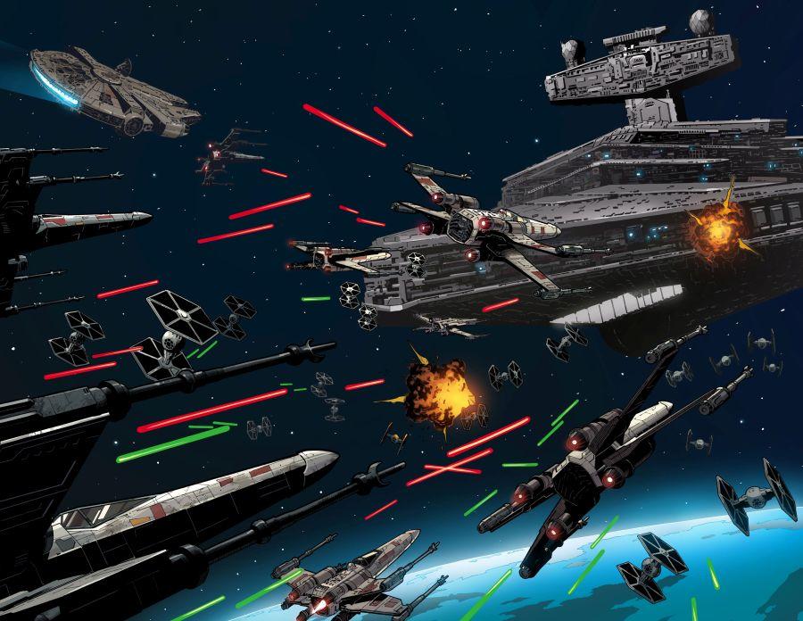 Ausschnitt aus Star Wars: Der letzte Flug der Harbinger | © Panini
