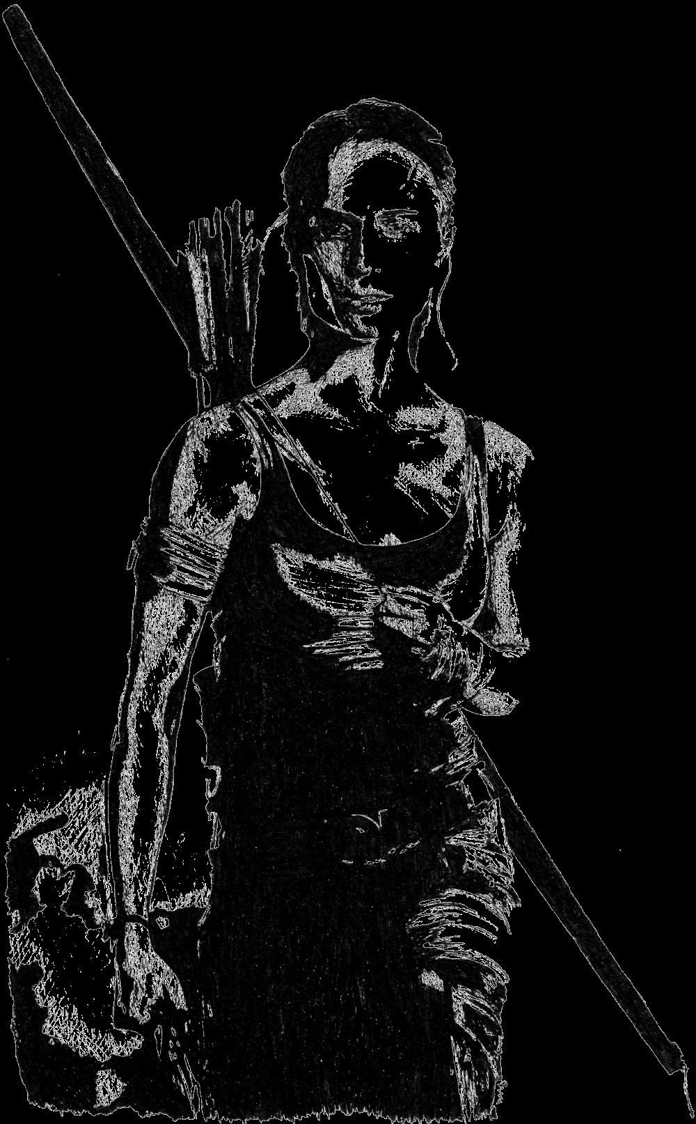 Alicia Vikander ist Lara Croft | Zeichnung von Wulf Bengsch