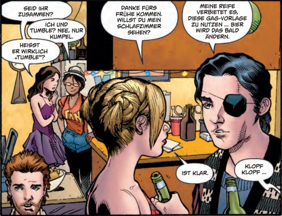 Ausschnitt aus Buffy The Vampire Slayer, Staffel 9, Band 1: Im freien Fall | © Panini