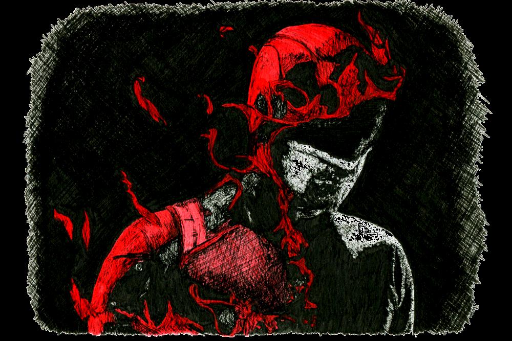Daredevil | Zeichnung von Wulf Bengsch