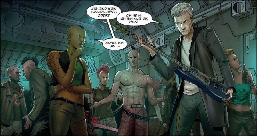 Ausschnitt aus Doctor Who: Der zwölfte Doctor 5 - Rock'n'Doc | © Panini
