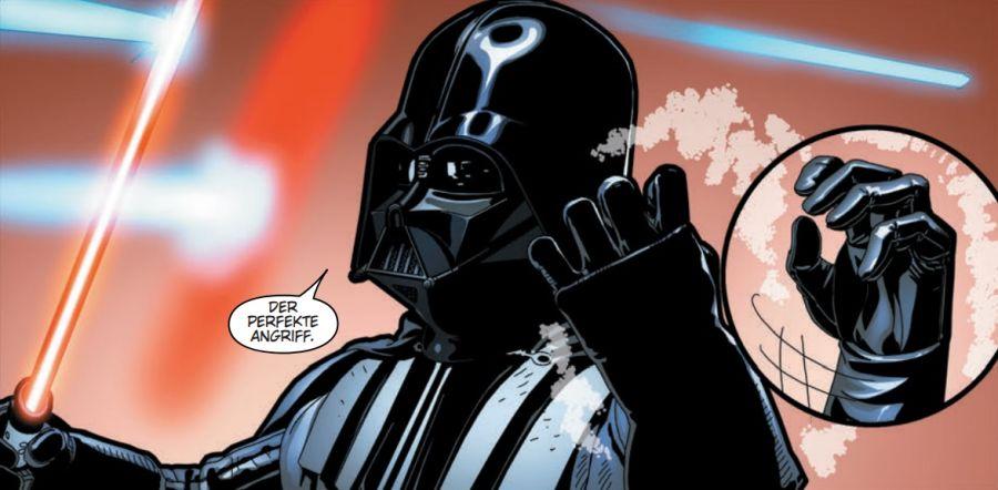 Ausschnitt aus Star Wars: Darth Vader: Zeit der Entscheidung | © Panini