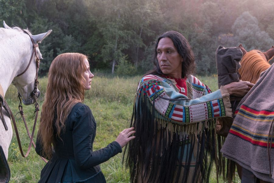 Szenenbild aus Die Frau, die vorausgeht | © Universum Film