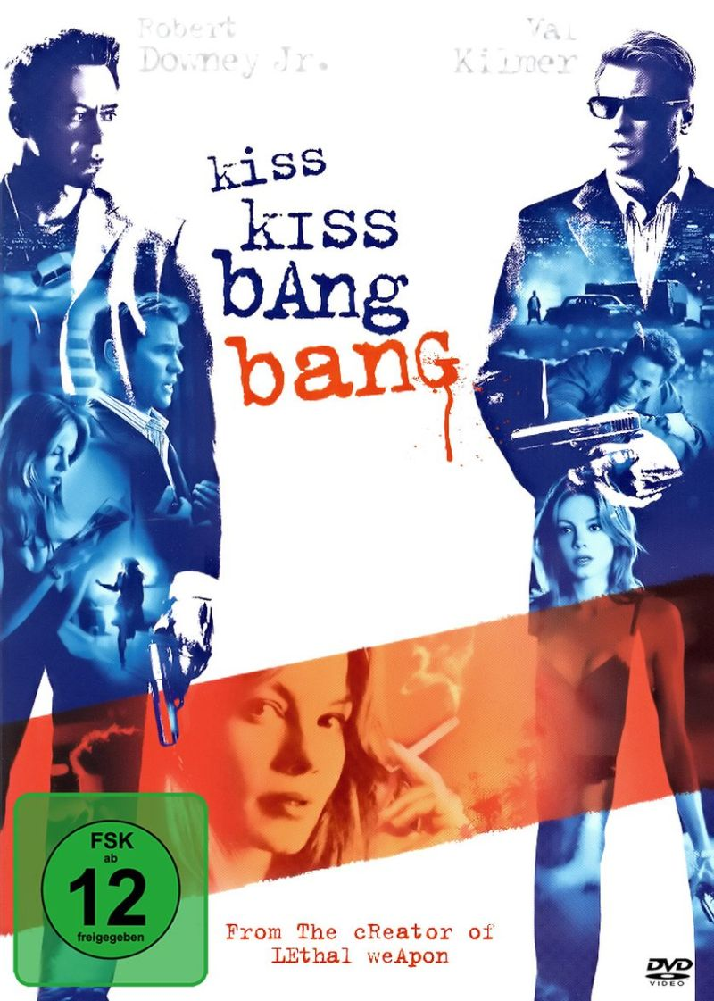 Kiss Kiss Bang Bang | © Warner Home Video