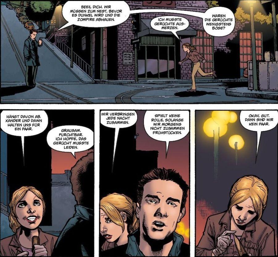 Ausschnitt aus Buffy The Vampire Slayer, Staffel 9, Band 4: Willkommen in der Gang | © Panini