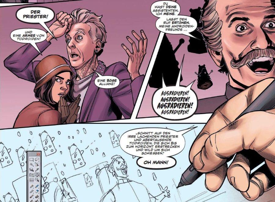 Ausschnitt aus Doctor Who: Der zwölfte Doctor 6 – Mit Schall und Knall | © Panini