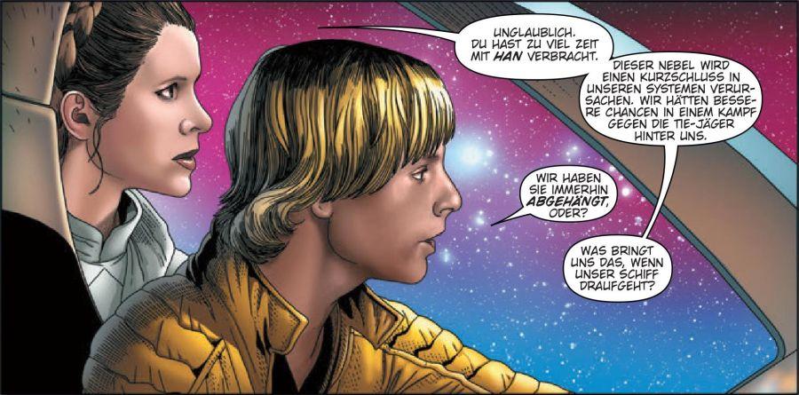 Ausschnitt aus Star Wars: In den Weiten der Galaxis | © Panini