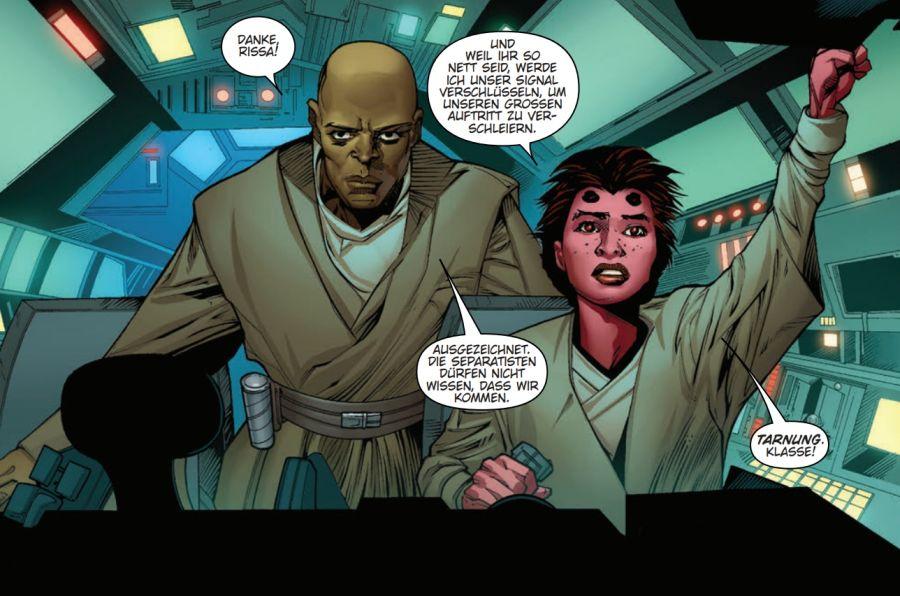 Ausschnitt aus Star Wars: Jedi der Republik – Mace Windu | © Panini