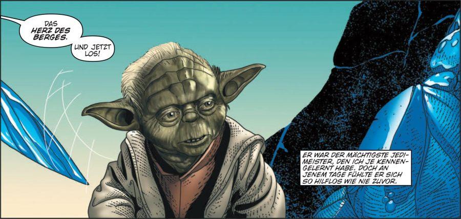 Ausschnitt aus Star Wars: Yodas geheimer Krieg | © Panini