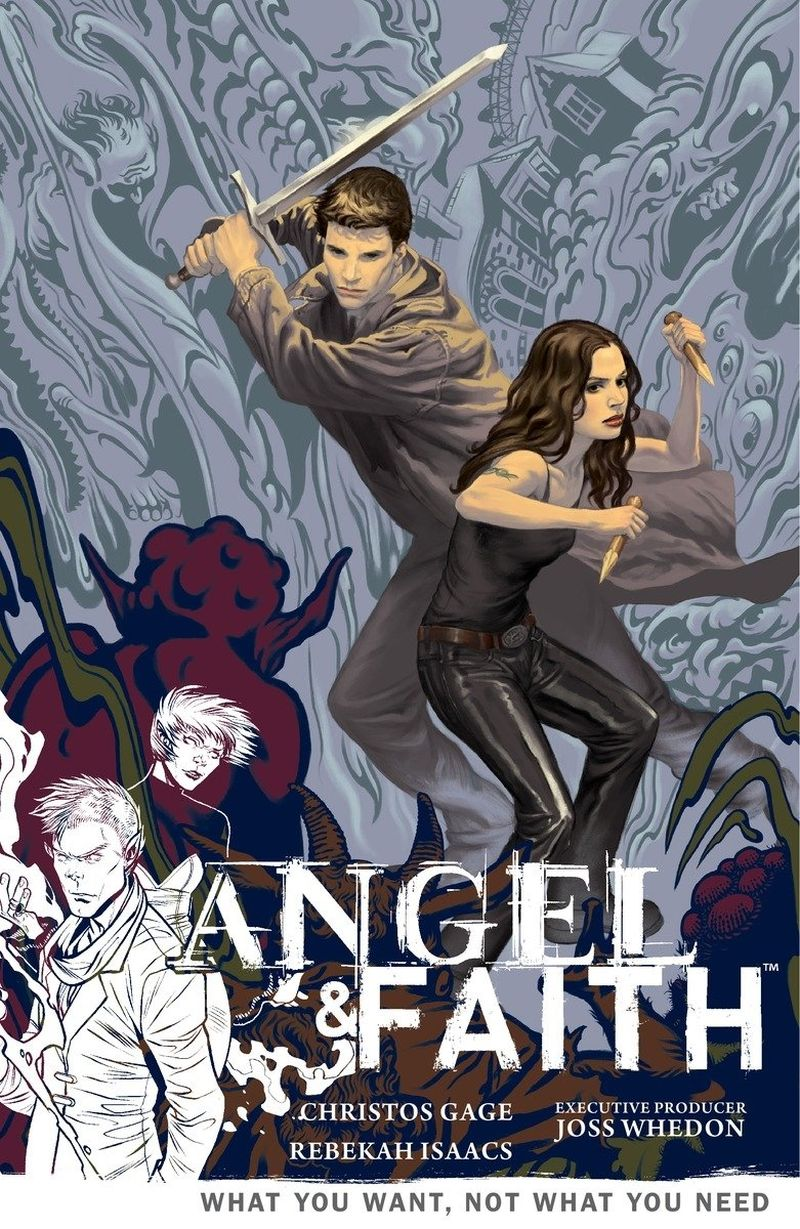 Angel & Faith Vol. 5: What You Want, Not What You Need | © Dark Horse Books