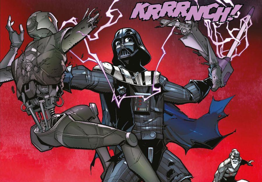 Ausschnitt aus Star Wars: Darth Vader: Der Auserwählte | © Panini
