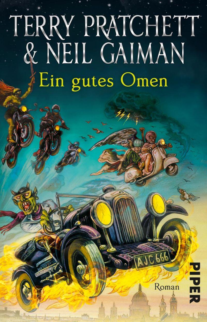Ein gutes Omen von Terry Pratchett & Neil Gaiman | © Piper