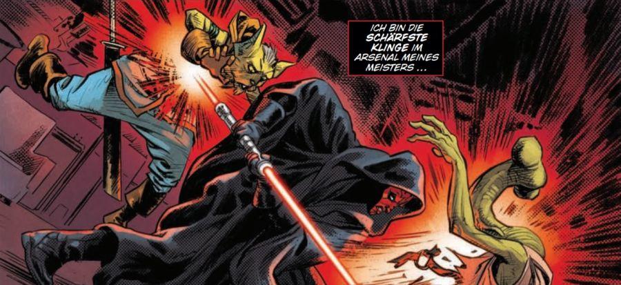Ausschnitt aus Star Wars: Darth Maul | © Panini
