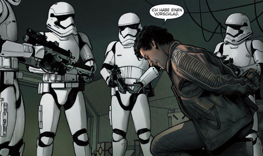 Ausschnitt aus Star Wars: Poe Dameron 3 - Die geheime Basis | © Panini