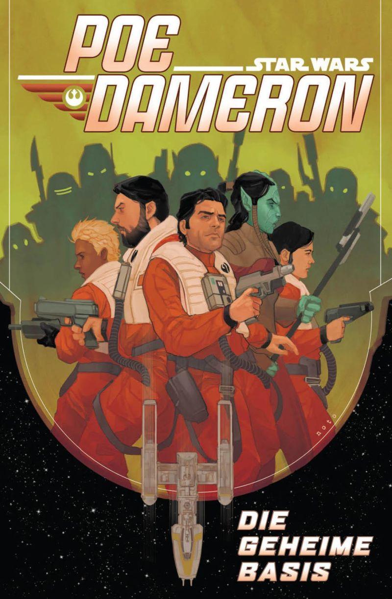 Star Wars: Poe Dameron 3 - Die geheime Basis | © Panini