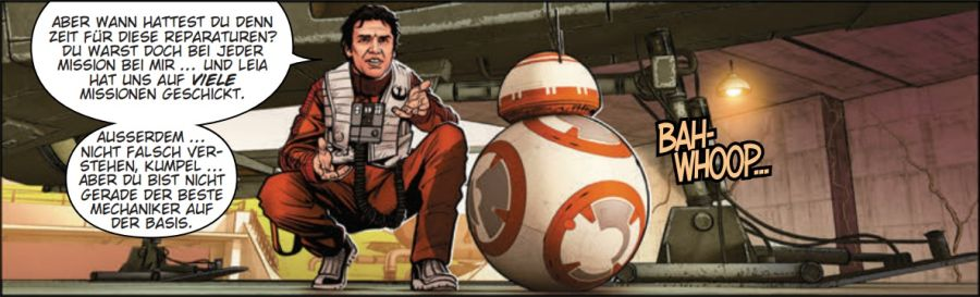 Ausschnitt aus Star Wars: Poe Dameron 4 - Die Wege der Macht | © Panini
