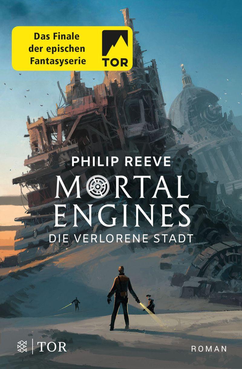 Mortal Engines - Die verlorene Stadt von Philip Reeve | © FISCHER Tor