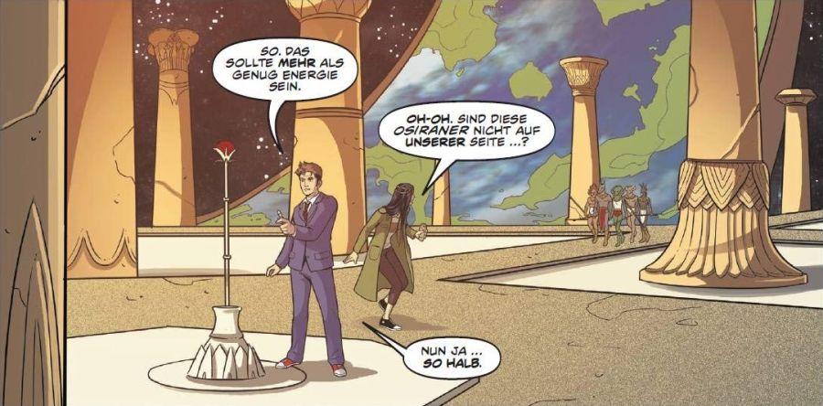 Ausschnitt aus Doctor Who: Der zehnte Doctor 7 - Krieg der Götter | © Panini
