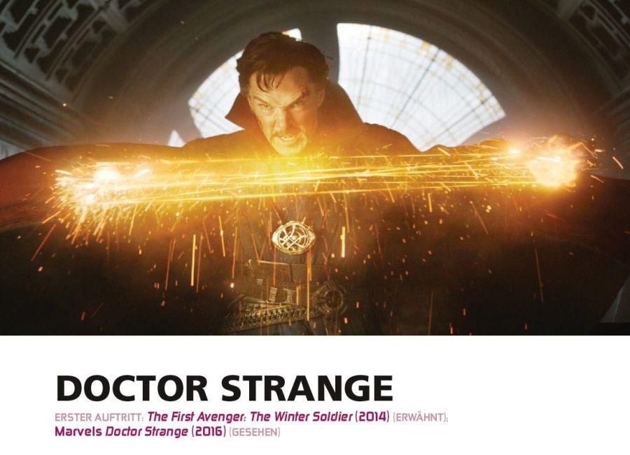 Ausschnitt aus Marvel Cinematic Universe: Das Film-Kompendium 2 | © Panini