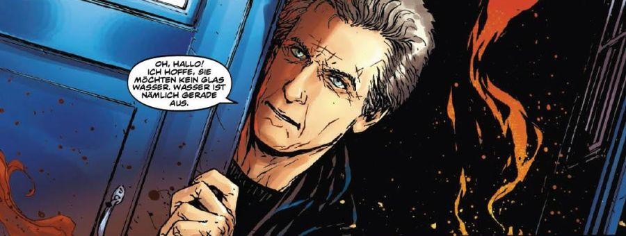 Ausschnitt aus Doctor Who – Die Herrschaft der Cybermen | © Panini