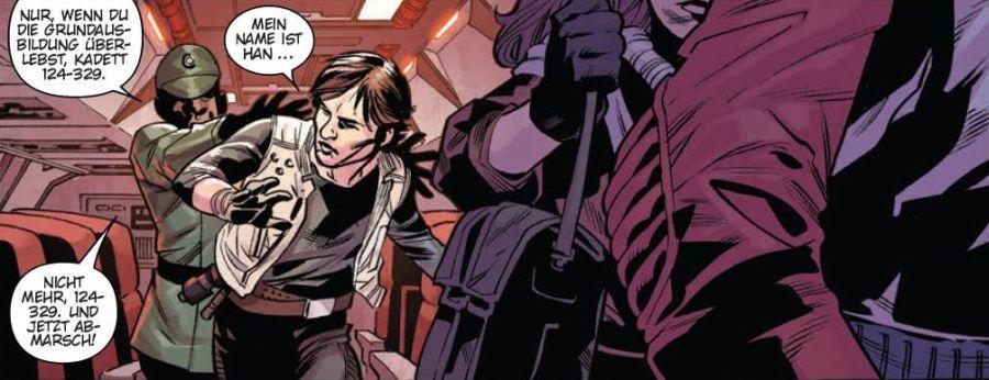 Ausschnitt aus Star Wars: Han Solo - Kadett des Imperiums | © Panini