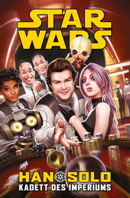 Star Wars: Han Solo - Kadett des Imperiums | © Panini