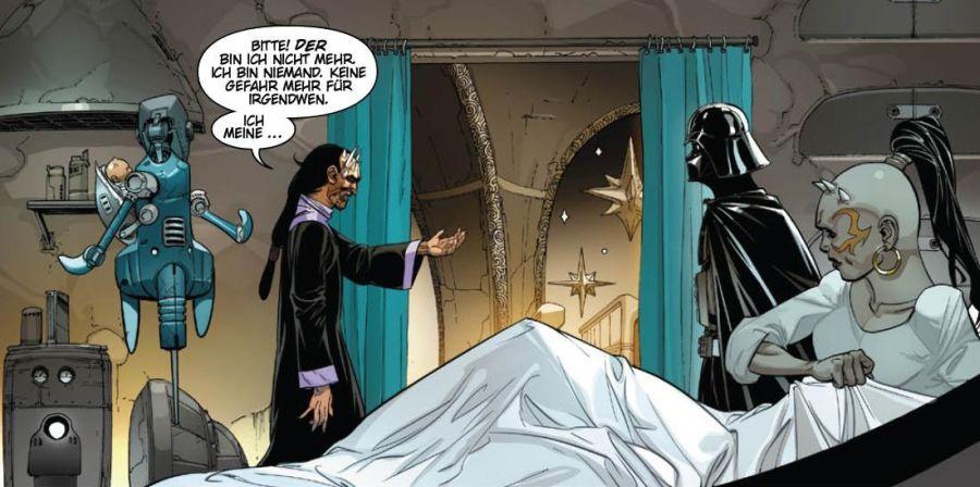 Ausschnitt aus Star Wars: Darth Vader: Vaders Festung | © Panini