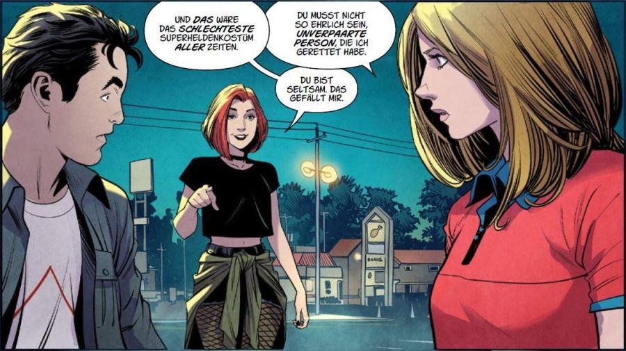 Ausschnitt aus Buffy The Vampire Slayer 1: Schule ist die Hölle | © Panini