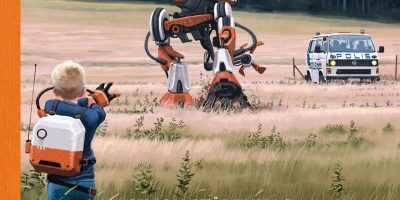 Tales from the Loop von Simon Stålenhag | © FISCHER Tor