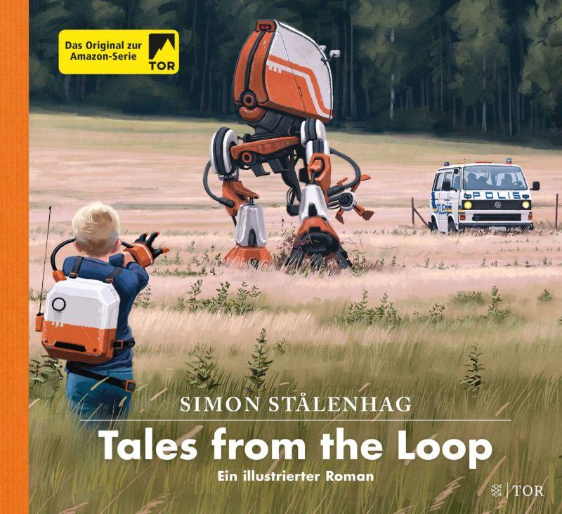 Tales from the Loop von Simon Stålenhag | © FISCHER Tor