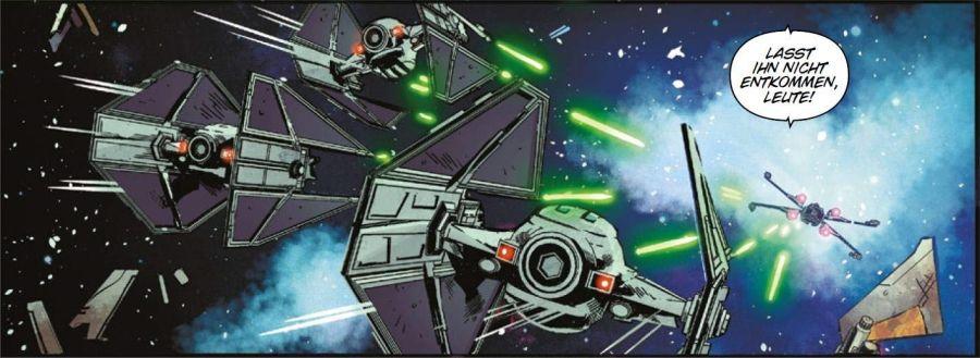 Ausschnitt aus Star Wars: TIE-Jäger: Schattengeschwader | © Panini
