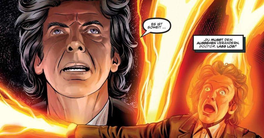 Ausschnitt aus Doctor Who - Im Angesicht des Dreizehnten Doctors | © Panini