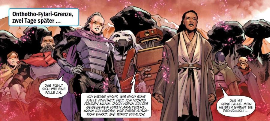 Ausschnitt aus Star Wars Jedi: Fallen Order - Der dunkle Tempel | © Panini