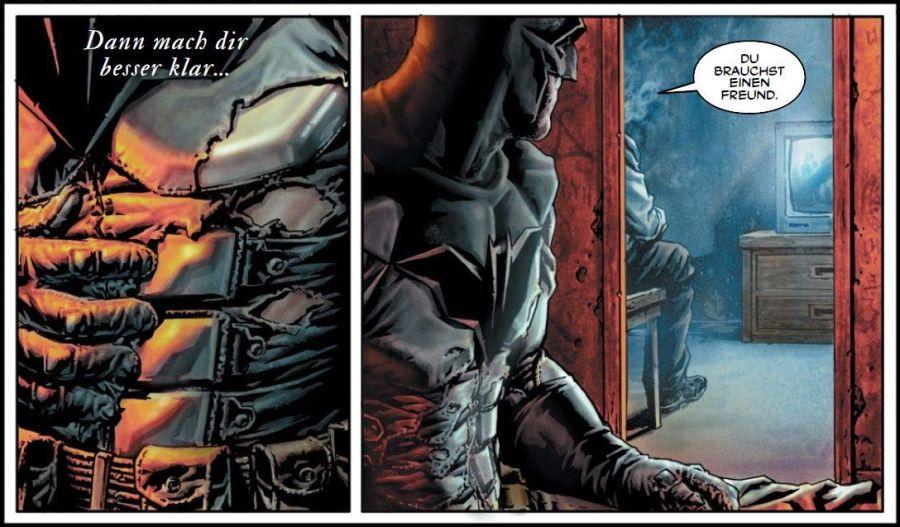 Ausschnitt aus Batman: Damned | © Panini
