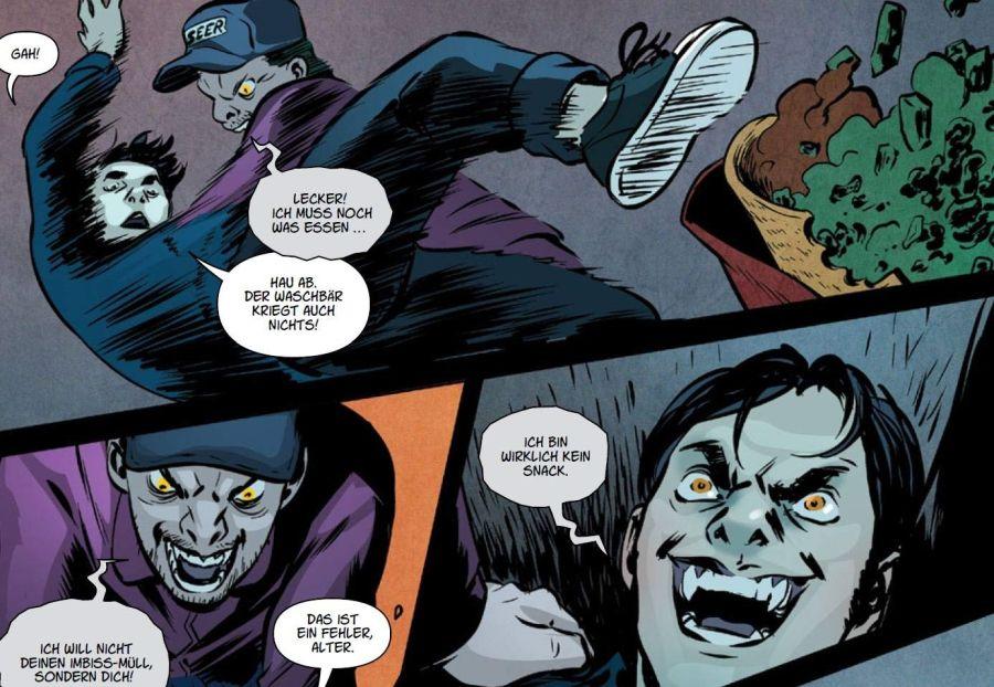 Ausschnitt aus Buffy The Vampire Slayer 3: Aus der Tiefe